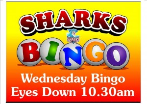 Sharks Bingo Redlands Victoria Point