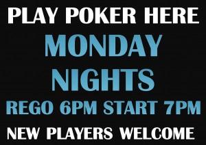 Poker Victoria Point Sharks Redlands Monday