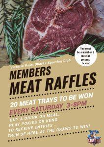 Members Meat Raffle
