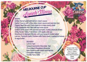 melbourne cup 18 menu