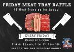 meat tray raffles