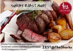 Sunday Roast Dinner Special