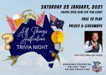 All Things Australian Trivia Night
