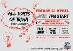 All Sorts of Trivia Trivia Night