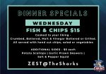 Fish and Chips Dinner Special